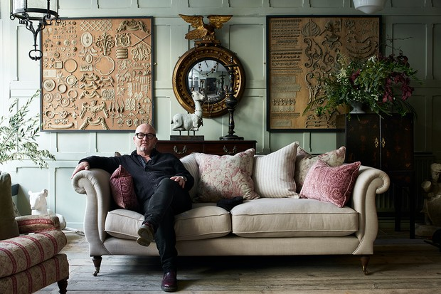 Antiques dealer Drew Pritchard launches exclusive collection for Barker and Stonehouse. Image courtesy of Barker and Stonehouse