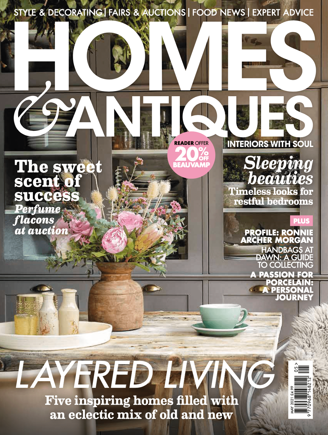 Homes & Antiques - May 2021 cover
