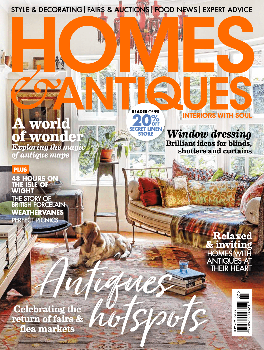 Homes & Antiques - July 2021