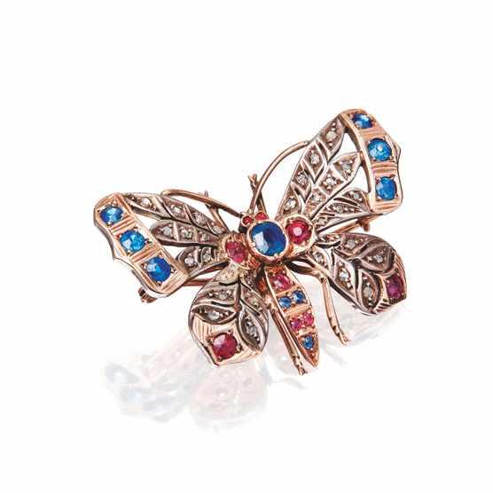 Lyon & Turnbull_multi-gem set butterfly brooch_hammer prince inc premium £325_July2020