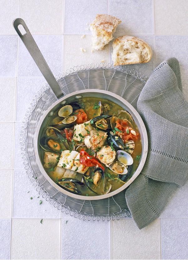 Seafood Stew Recipe with Saffron