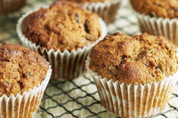 Seeded Bran Muffins Recipe
