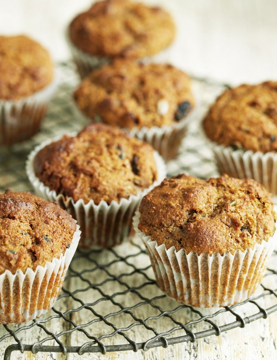 Seeded Bran Muffins Recipe