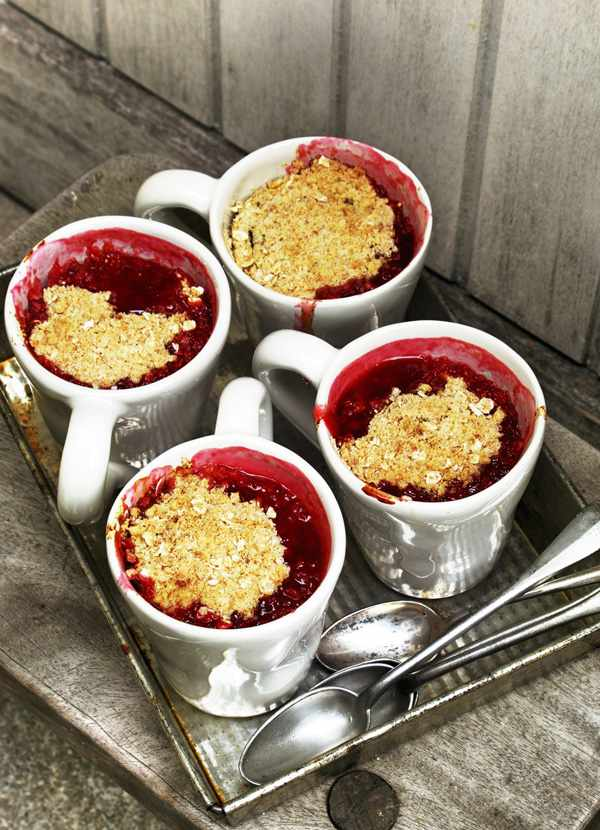 Quince And Plum Crumble Recipe