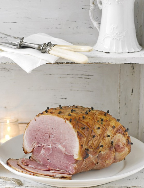 Glazed Christmas Ham Recipe with Pineapple Chutney