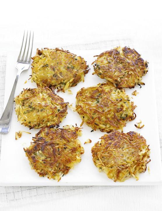 Potato Rosti Cakes Recipe with Parsnip