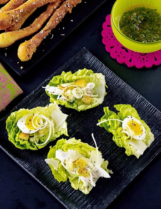 Caesar Salad Canapes
