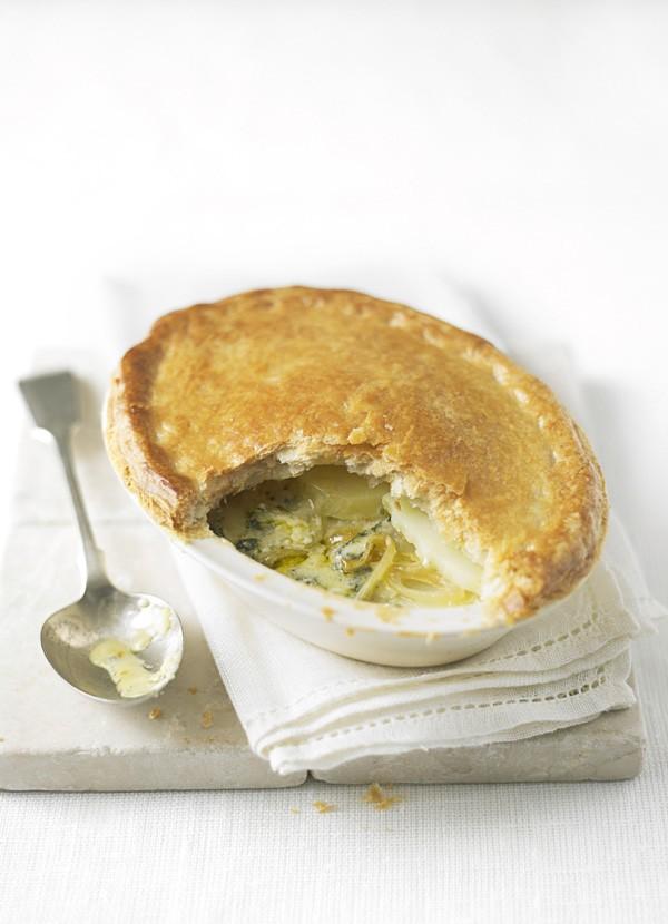 Potato and Stilton Pie Recipe