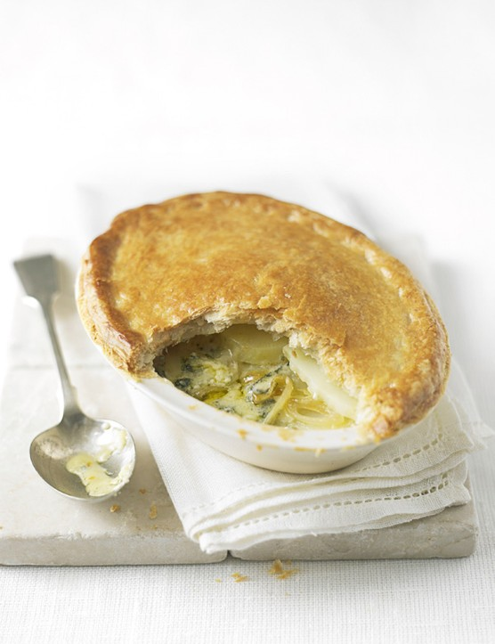 Potato and Stilton Pie Recipe
