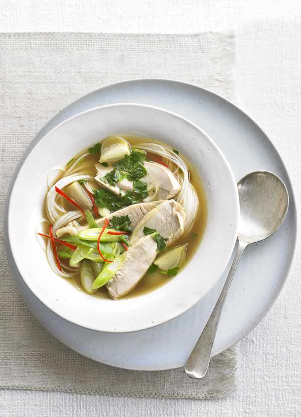Asian Hot And Sour Turkey Soup Recipe