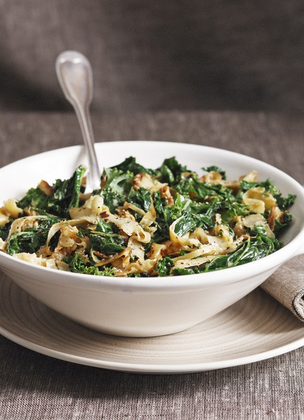 Kale With Parsnips And Cream Recipe