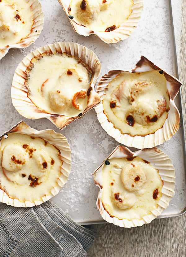 Scallops Mornay Recipe