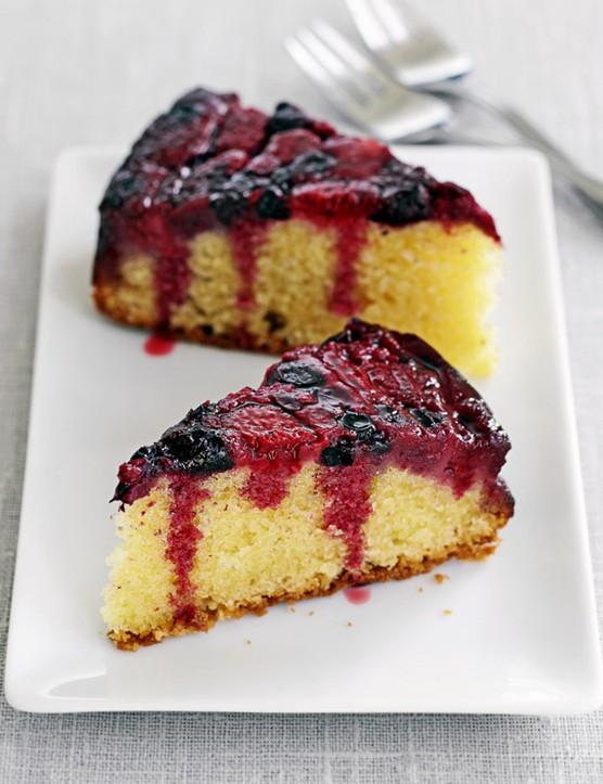 Berry Upside Down Cake Recipe