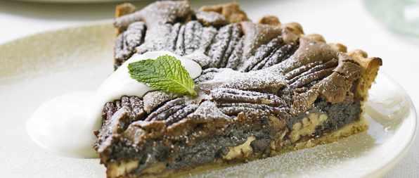 Chocolate Brownie Pecan Tart Recipe