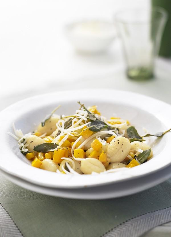 Vegetarian Gnocchi Recipe with Butternut Squash and Sage