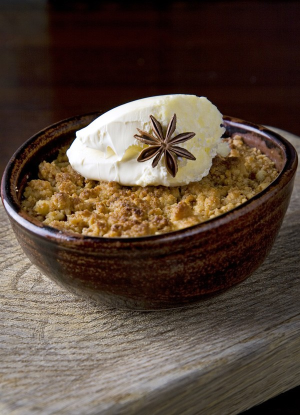 Rhubarb And Ginger Crumble Recipe