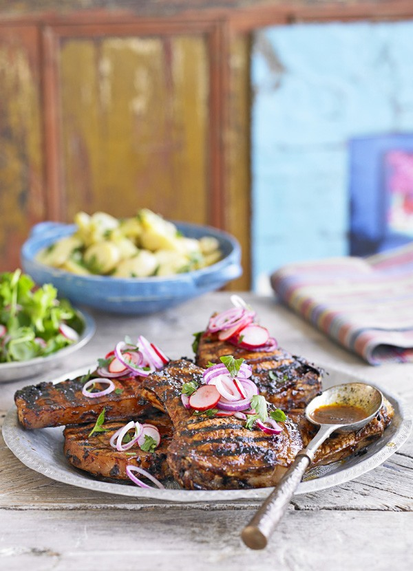 Mexican Pork Chops Recipe In Lime and Ancho Marinade