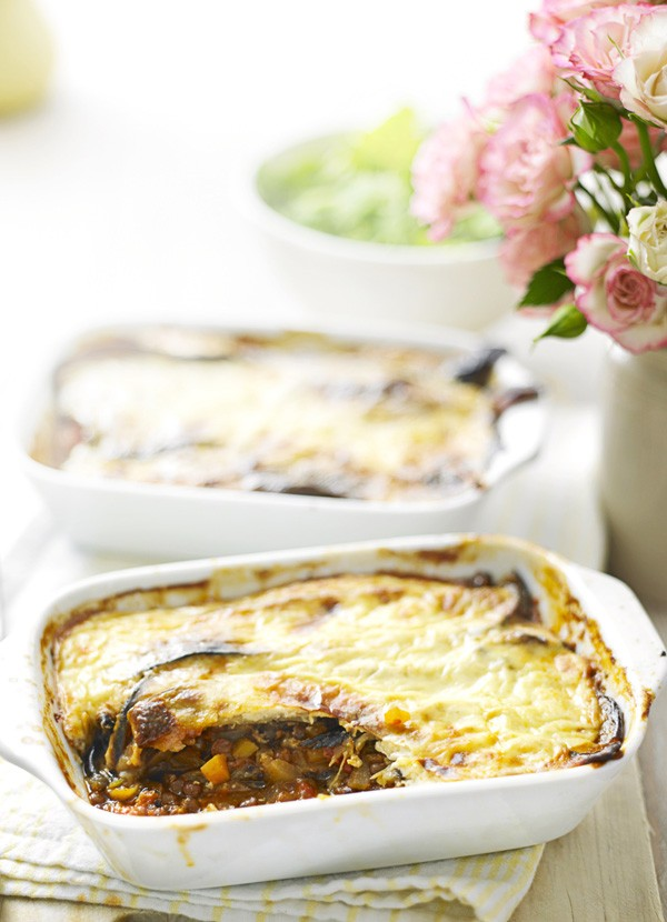 Vegetarian Moussaka Recipe