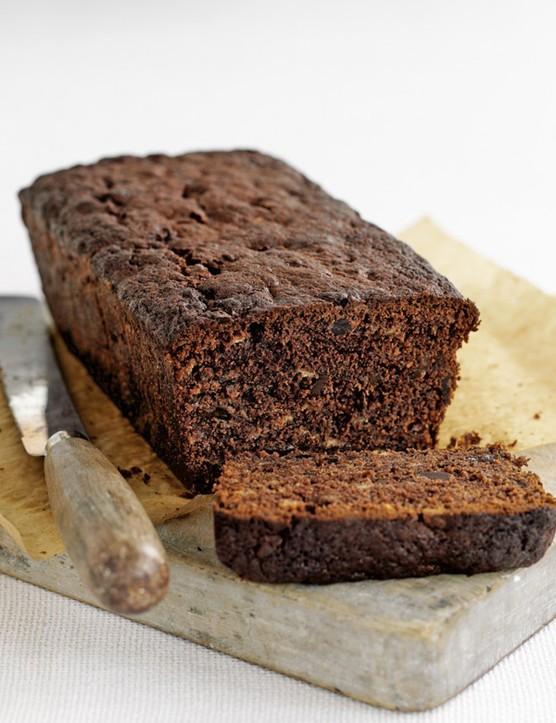 Chocolate banana loaf