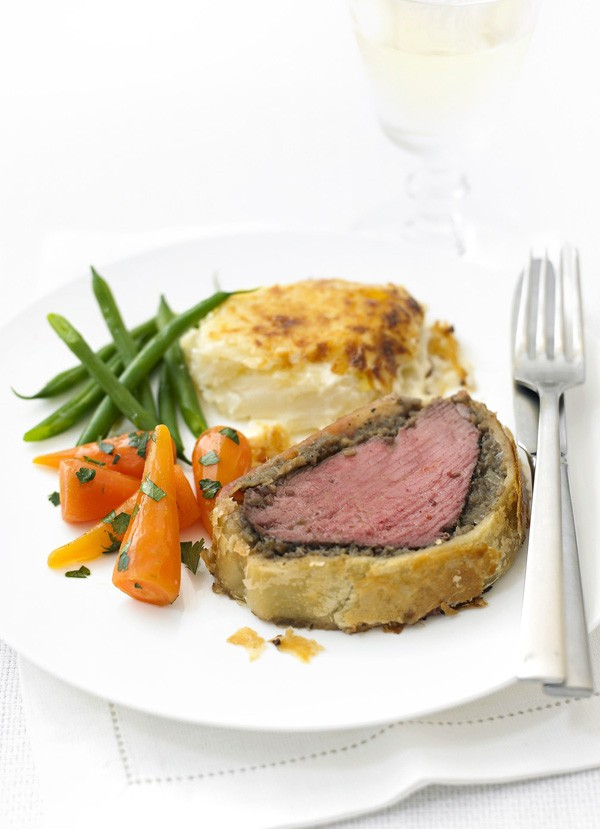Beef Wellington Recipe with Mushroom Duxelles