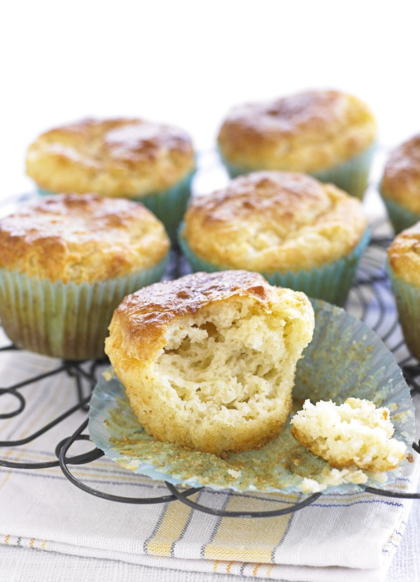 Marmite and cheddar muffins