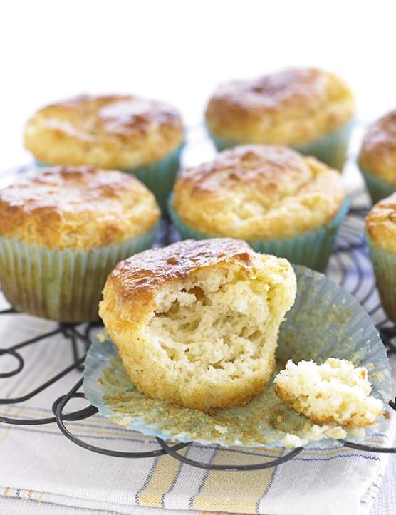 Marmite and cheddar muffins
