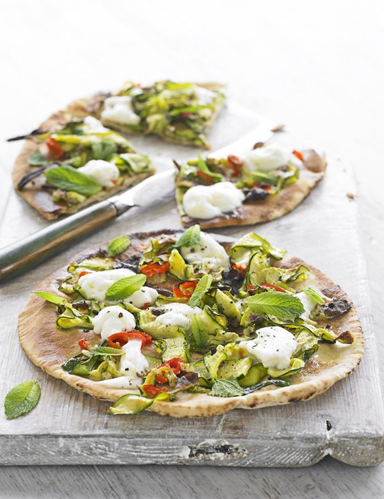 Courgette Pizza Recipe with Chilli