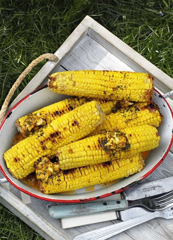 BBQ Corn On The Cob Recipe with Butter