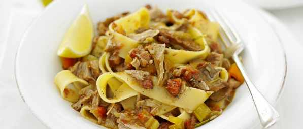 Pappardelle Recipe With Braised Veal and Porcini