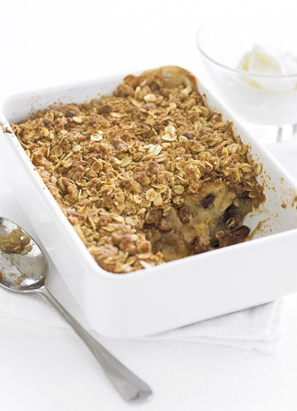 Spiced Apple Crumble Recipe
