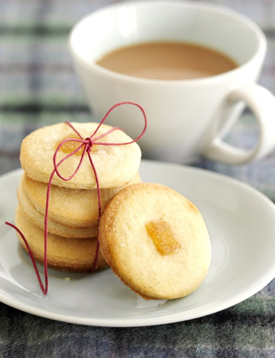 Shortbread Recipe for Ginger Shortbread Cookies