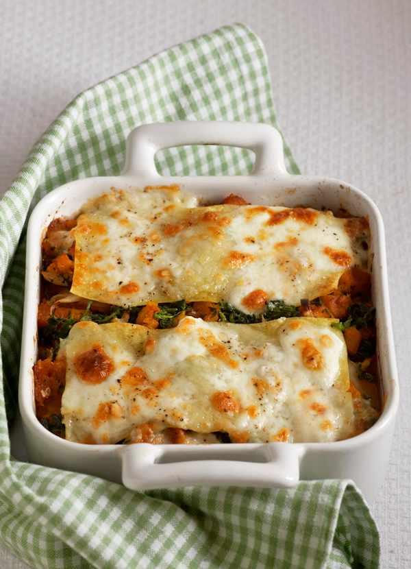 Butternut Squash Lasagne Recipe