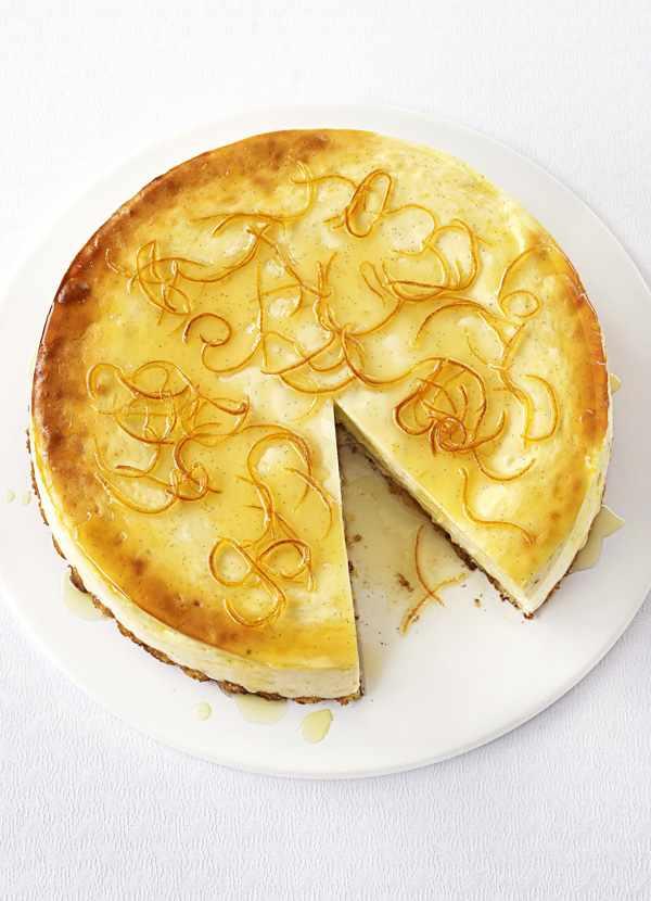 Lemon Cheesecake Recipe With Vanilla