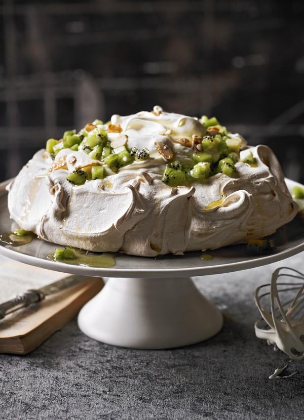 Elderflower and Kiwi Pavlova Recipe