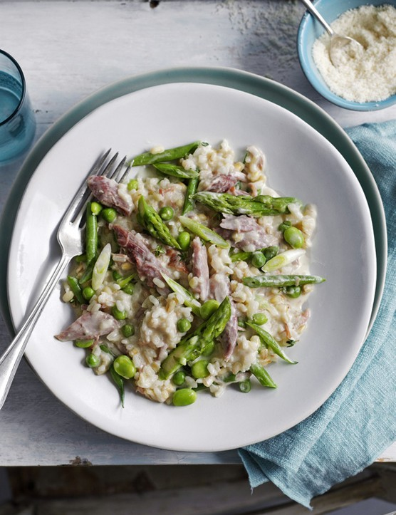 Ham Hock Risotto Recipe with Barley