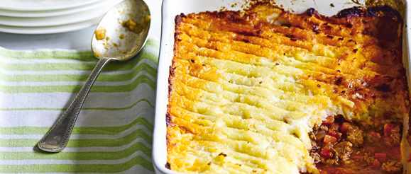 Spiced Shepherd's Pie With Parsnip Mash Recipe