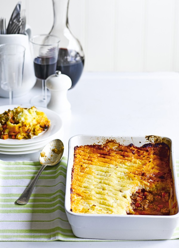 Spiced Shepherd's Pie With Parsnip Mash Recipe