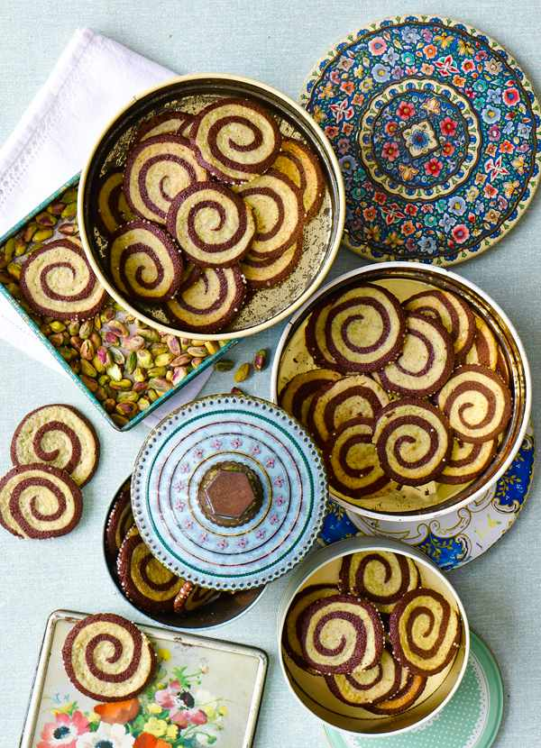 Pistachio Pinwheel Cookie Swirl Recipe