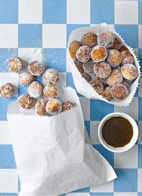Homemade Donut Recipe with Whisky Dipping Sauce