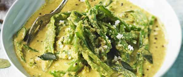 Keralan runner bean curry