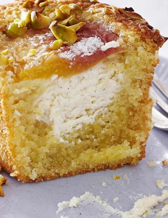 Peach Friands Recipe with Pistachio