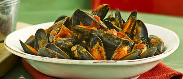 Mussels with Chorizo Recipe with Tomatoes