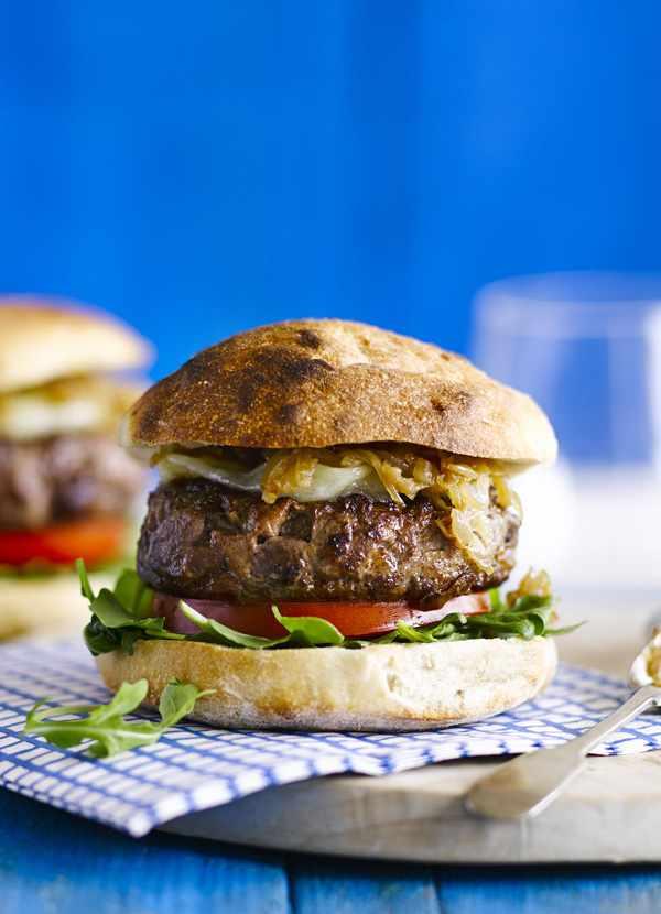 Italian-style hamburger