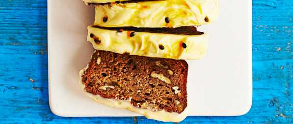 Banana Cake Recipe With Passion Fruit Icing