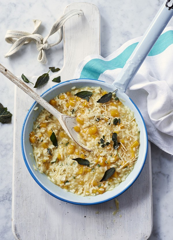 Butternut Squash and Sage Risotto Recipe