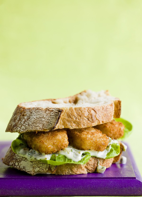 Fish Finger Doorstop Sandwich Recipe