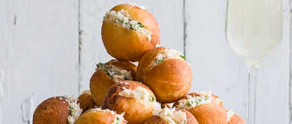 Chiltern Firehouse's crab donuts
