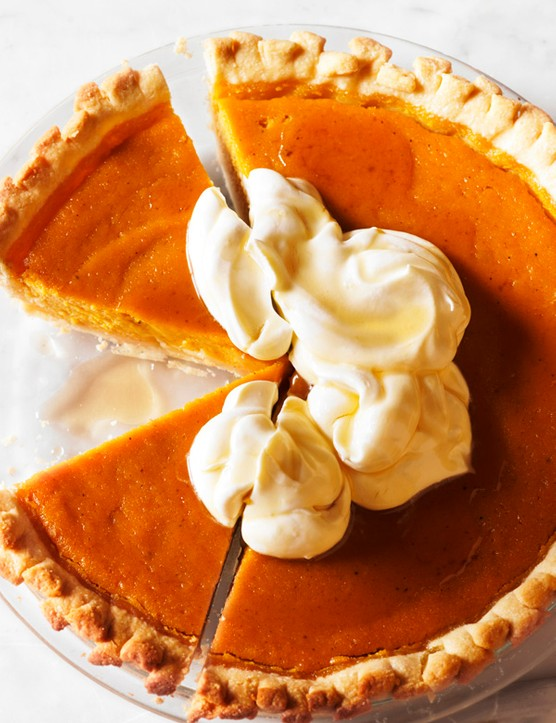 Pumpkin Pie With Maple Cream Recipe