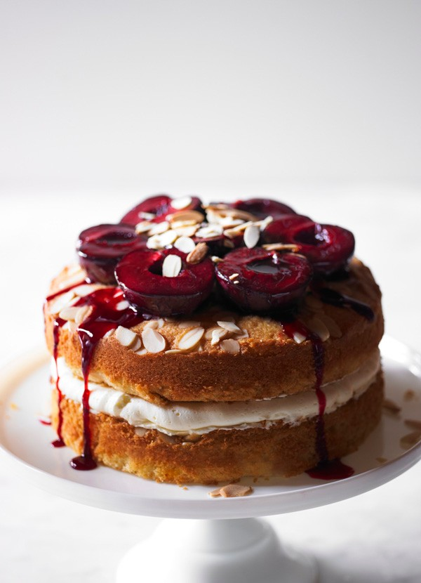 Plum Cake with Sloe Gin Recipe