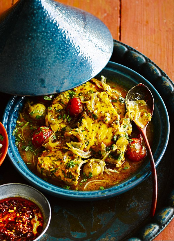 Chermoula Fish Tagine Recipe